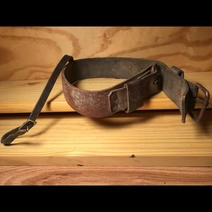 Leather D Strap for Saddlery